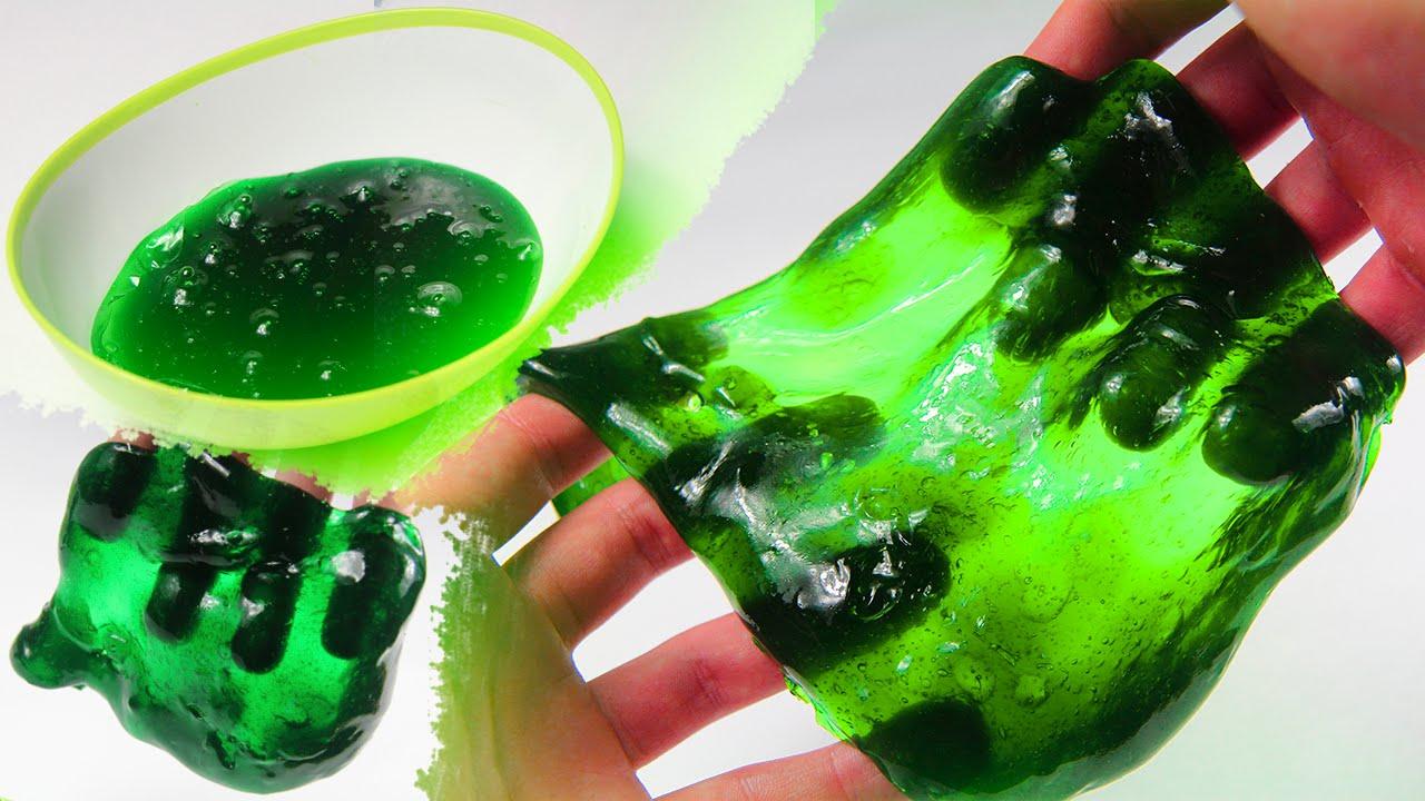 Лизун своими руками в домашних условиях без тетрабората натрия и клея
