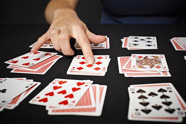 Гадание на игральной колоде карт