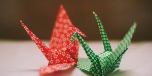 Как сделать японского журавлика оригами фото 130